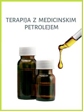 Petrolej - eno, dvo ali trokomponentni prečiščen